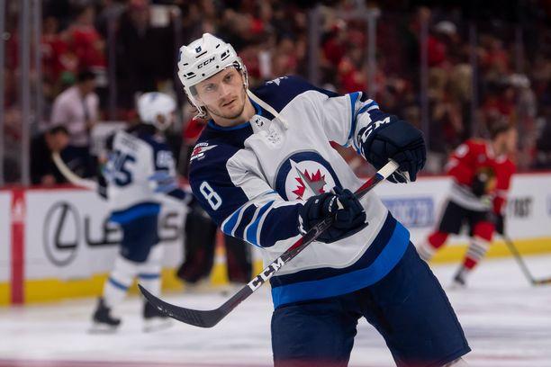 Winnipegistä New Yorkiin siirtyvällä Jacob Trouballa on allaan uransa tehokkain NHL-kausi.