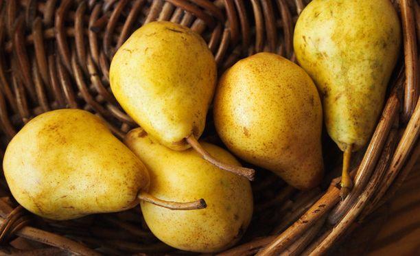 Päärynäpussin punnitus toi miehelle sakot lievästä petoksesta. Kuvan päärynät eivät liity tapaukseen.