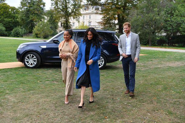 Doria Ragland on läheinen Meghanin ja Harryn kanssa. Kuva syyskuulta.