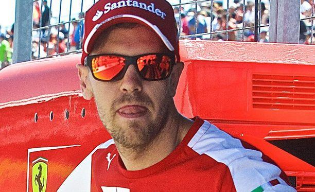 Sebastian Vettel on yllättyi Ferrarin iskukyvystä.
