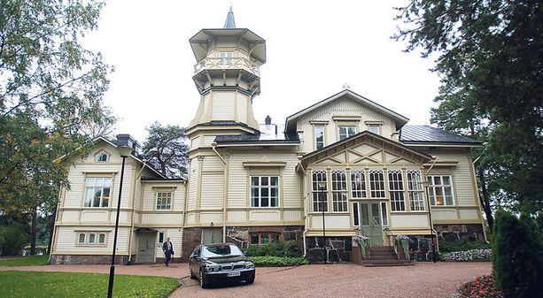 Helsingin Meilahdessa sijaitseva Kesäranta on rakennettu vuonna 1873.