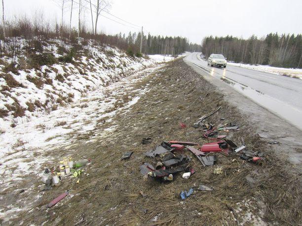 Vastaantulevien kaistalle ajautunut rattijuoppo päätti kahden nuoren elämän Sastamalassa 18. helmikuuta.
