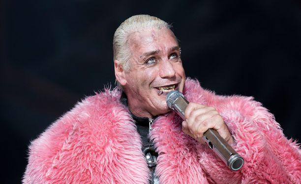 Till Lindemann on luotsannut Rammstein-yhtyettä vuodesta 1994 asti.