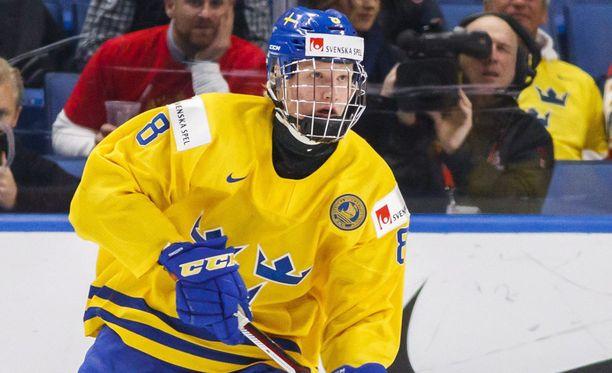 Rasmus Dahlin järjesti viime yönä Venäjää vastaan mykistävän show'n.
