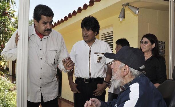 Maduro tapasi Kuuban entistä johtajaa Fidel Castroa tänä kesänä.