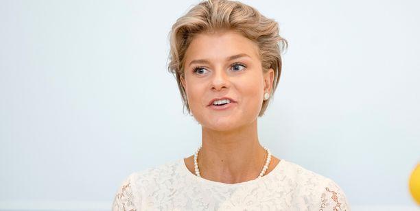 Jenny Rissveds ei ollut varautunut pyöritykseen, johon joutui olympiavoittonsa jälkeen.