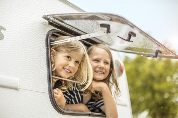 Lapset rakastavat tutkia vaunun eri soppeja.