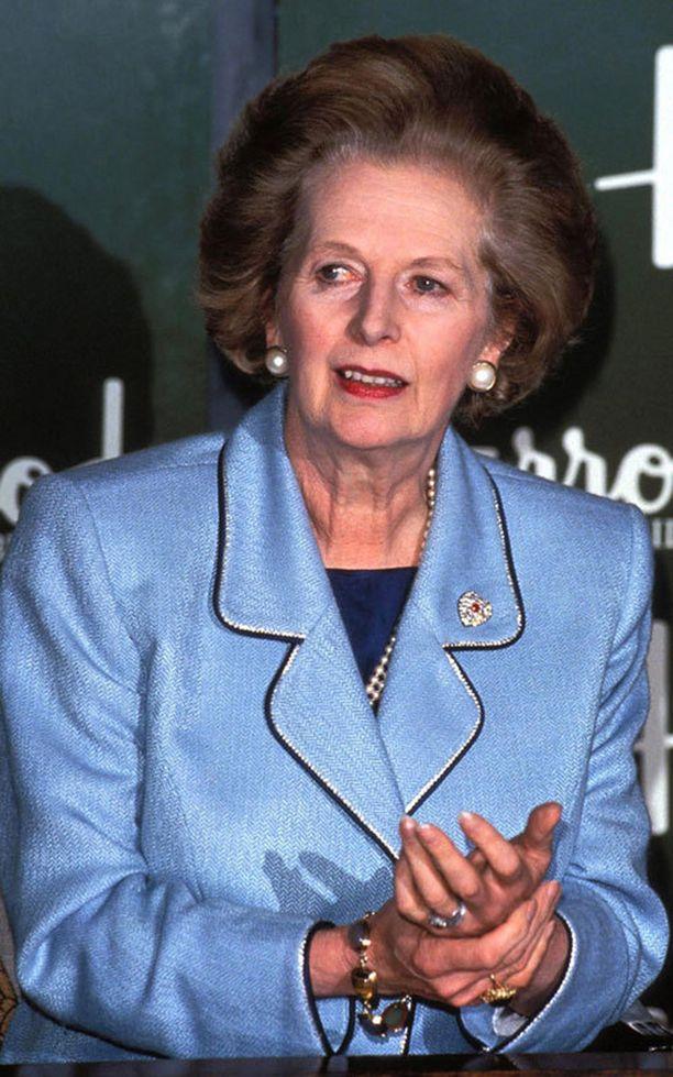 Ison-Britannian entinen pääministeri Margaret Thatcher, eli Rautarouva, kuoli huhtikuussa 2013.