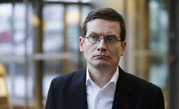 HS:n vastaava päätoimittaja Kaius Niemi.