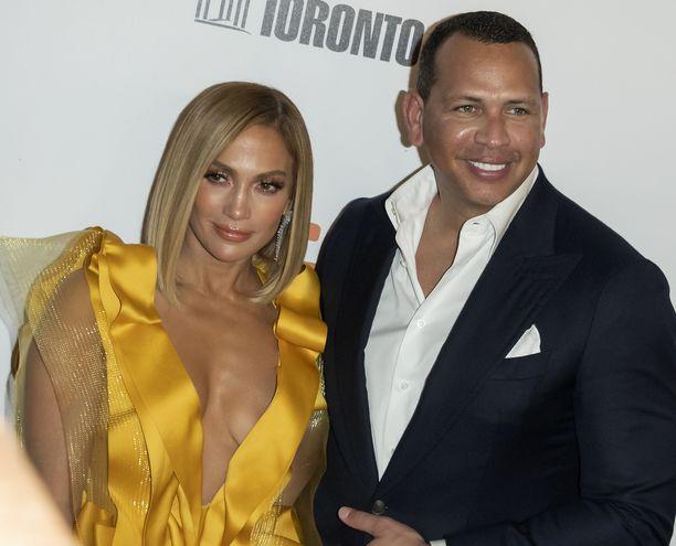 Jennifer Lopez ja Alex Rodriguez ovat kihloissa.