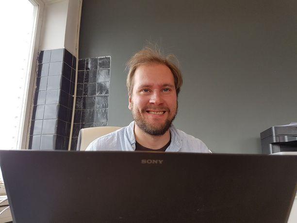 Yrittäjä Heikki Uotila.