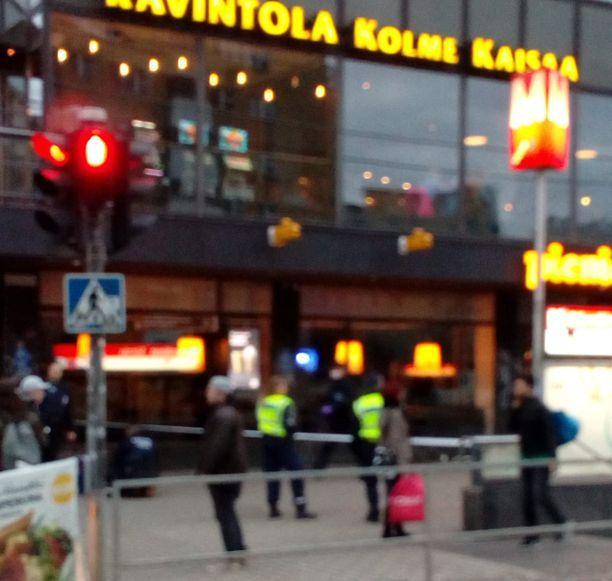 Puukotus tapahtui Helsingin Sörnäisissä.