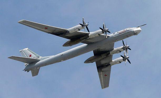Tu-95-tyypin koneet ovat nyt lentokiellossa.