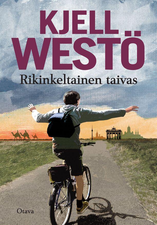 Rikinkeltainen taivas on Westön seitsemän romaani.