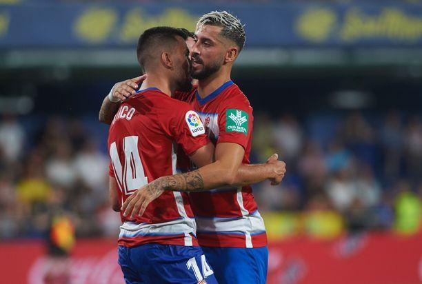 Granada palasi La Ligaan kahden kauden jälkeen.