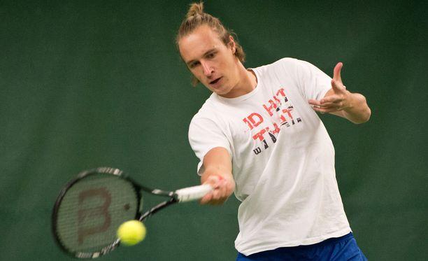 Henri Kontisen (kuvassa) pari US Openissa on Argentiinan Horacio Zeballos.