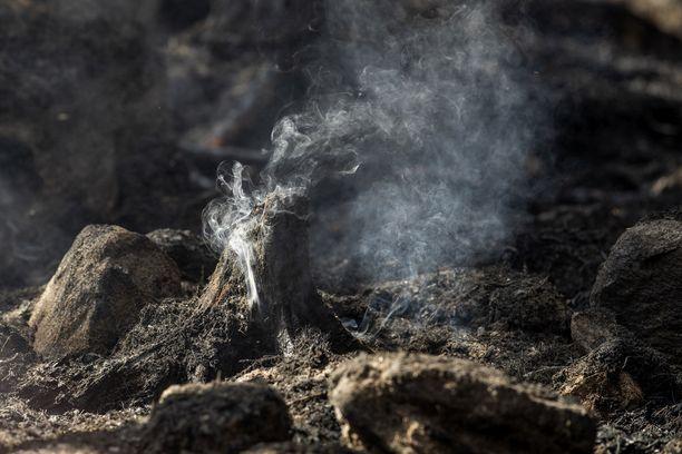 Tulipalo on aiheuttanut massiiviset tuhot Pyhärannassa.