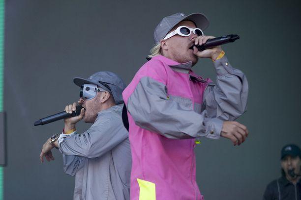 JVG:stä on tullut viime vuosina yksi Suomen suosituimmista liveyhtyeistä. Tämä kuva on Turun Ruisrockista vuodelta 2018.