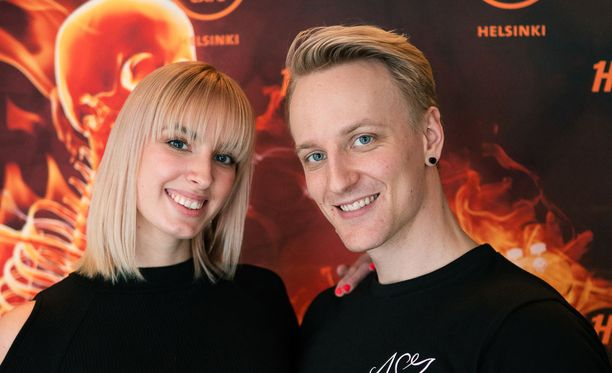 Vilma ja Elias toteuttivat unelmansa omasta ohjelmasta.
