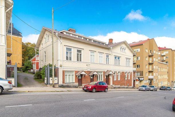 Turkulaistalo on rakennettu alun perin vuonna 1906.