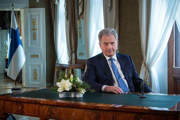 Tasavallan presidentti Sauli Niinistö