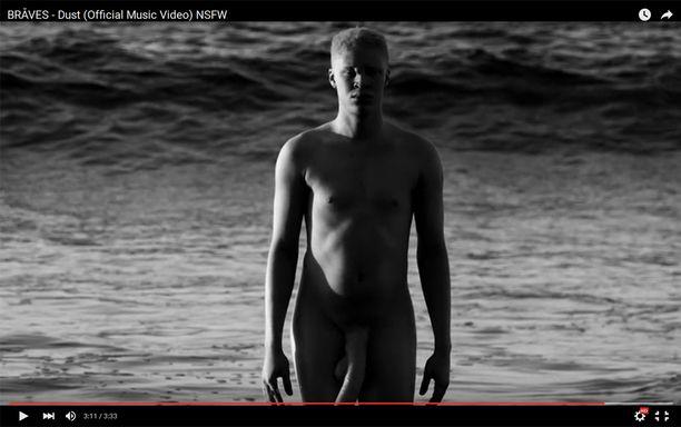 Shaun Ross Dust-videolla.