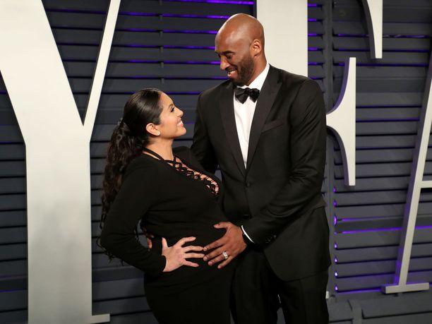 Vanessa ja Kobe Bryant saivat neljännen lapsensa viime vuonna.