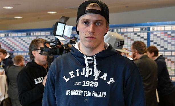Saku Mäenalanen edusti Suomea viime kevään MM-kisoissa.