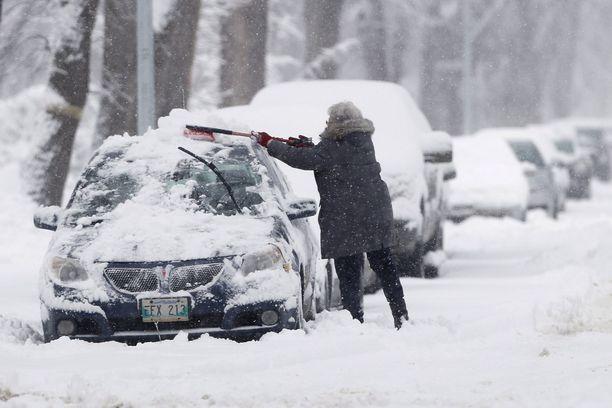 Winnipegin talvi on julma, mutta vielä maaliskuussakin saattaa yhden päivän aikana sataa lunta 30 senttiä kuten tapahtui viime maaliskuussa.