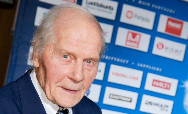Kalevi Häkkinen on suomalaisen alppihiihdon pioneeri.