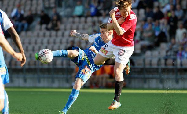 Matias Hännisen HIFK ja Robert Taylorin RoPS tasasivat pisteet.