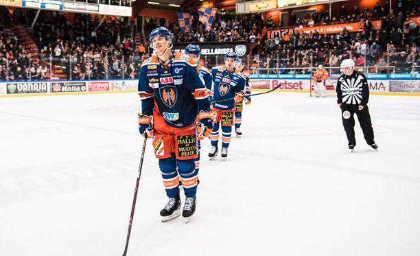 Aleksi Elorinne hiljensi hämeenlinnalaisyleisön kauden ensimmäisellä maalillaan.