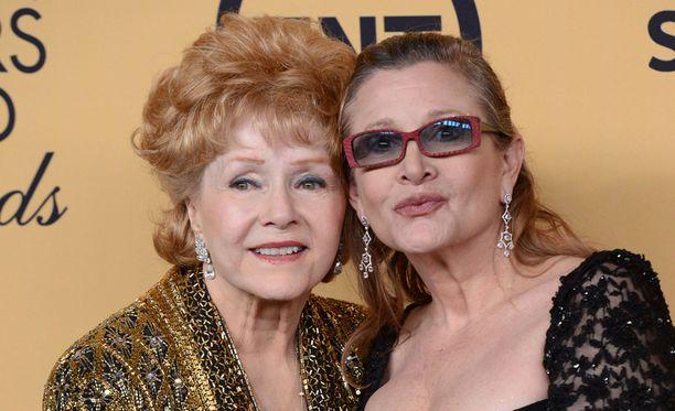 Debbie Reynolds ja Carrie Fisher menehtyivät tällä viikolla.