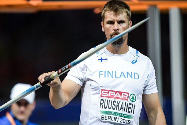 Antti Ruuskanen oli viime vuoden Berliinin EM-kisoissa kuudes.