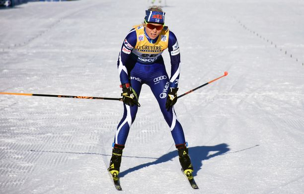 Mari Ederin hiihdot Tour de Skillä päättyivät lauantain epäonnistuneen vapaan sprintin jälkeen.