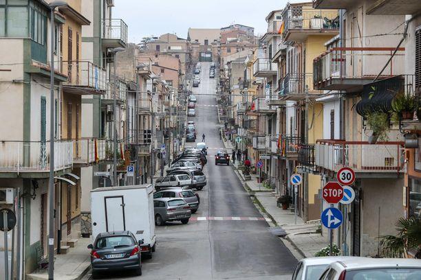 Maaliskuussa otettu kuva Villafratin kaupungista Palermon lähellä. Kuvituskuva.