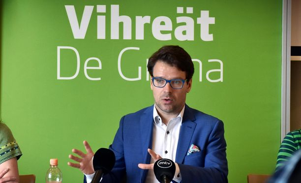 Ville Niinistö väistyy Vihreiden puheenjohtajan paikalta tänä vuonna.