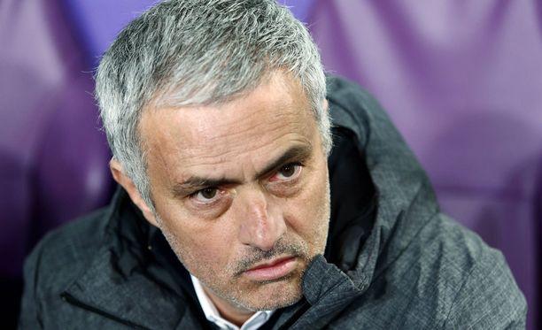 José Mourinho ei ollut tyytyväinen.