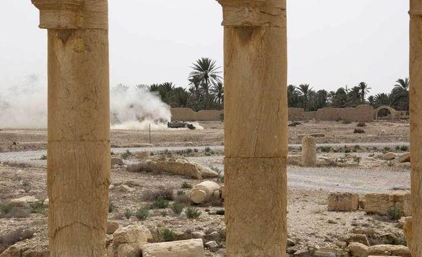 Syyriassa Isis häädettiin Palmyran kaupungista maaliskuussa.