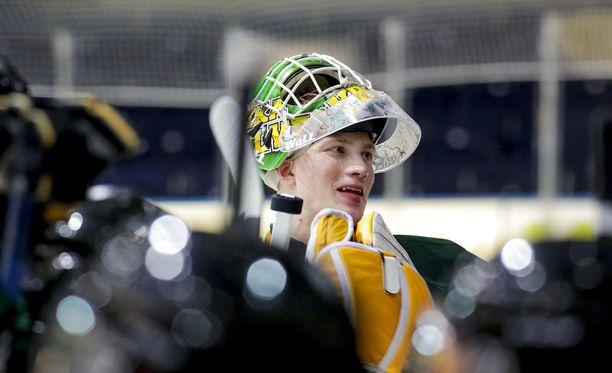 Lassi Yrjölä pelaa loppukauden USHL:ssä.