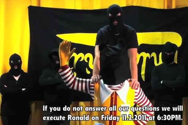 Ryhmä vaatii McDonaldsia vastaamaan kysymyksiinsä perjantai-iltaan mennessä.