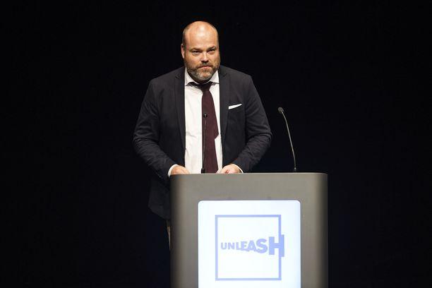 Tanskalaismiljardööri Anders Holch Povlsen kuvattuna vuonna 2017.