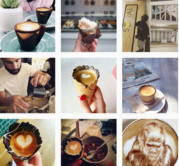 Tämä juoma on somehitti. Instagram tulvii kuvia tuuttikahvista.