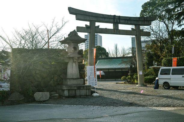 Linnan alue on suosittu retkikohde Osakassa.