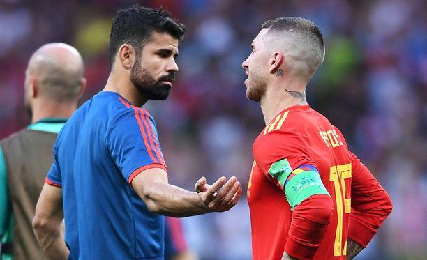 Costa yritti vakuuttaa myös kapteeninsa Sergio Ramosin.