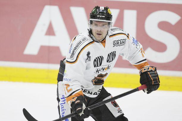 Juha-Pekka Haataja nousi 500 SM-liigapisteen kerhoon.