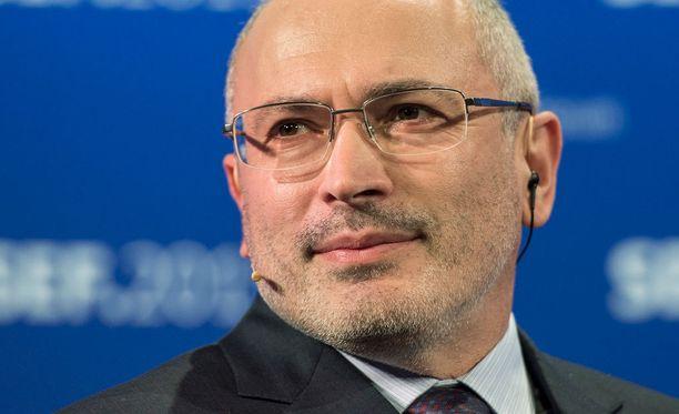 Mihail Hodorkovski oli tänä viikonloppuna Helsingissä pitämässä Avoin Venäjä -säätiön kokousta ja puimassa opposition suunnitelmia lähitulevaisuudelle.