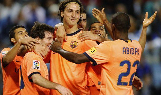 Zlatan haluaa panostaa Barcelonan peleihin.