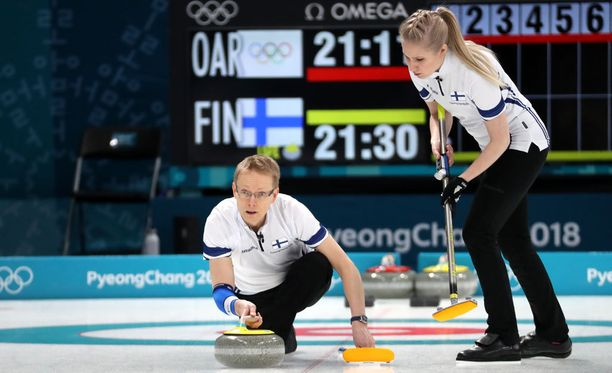 Tomi Rantamäen ja Oona Kausteen olympiasaldoksi tuli yksi voitto ja kuusi tappiota.