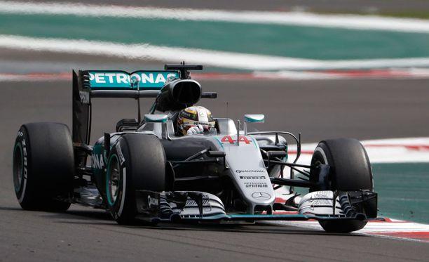 Lewis Hamilton voitti Meksikon GP:n.